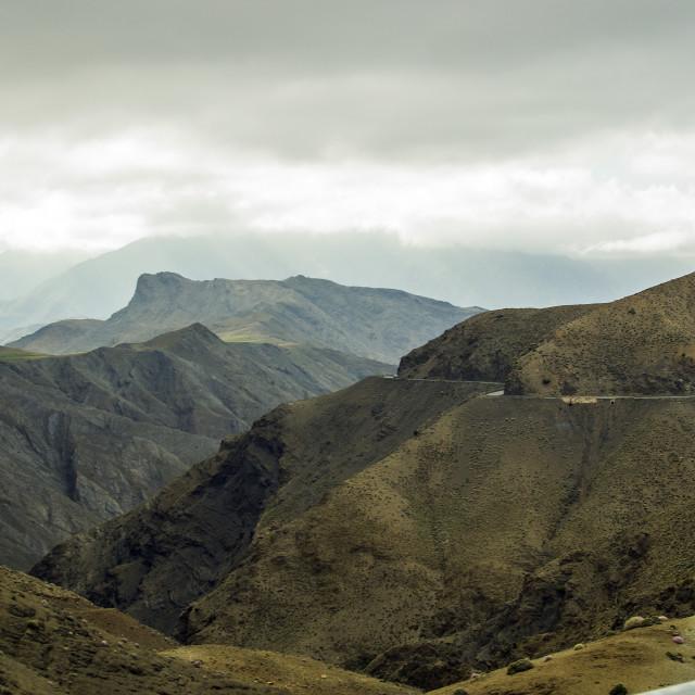 """Valley near Ouarzazate"" stock image"