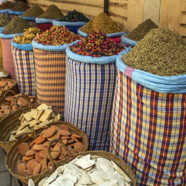 """Herbal Shop - Herboriste Des Amis"" stock image"