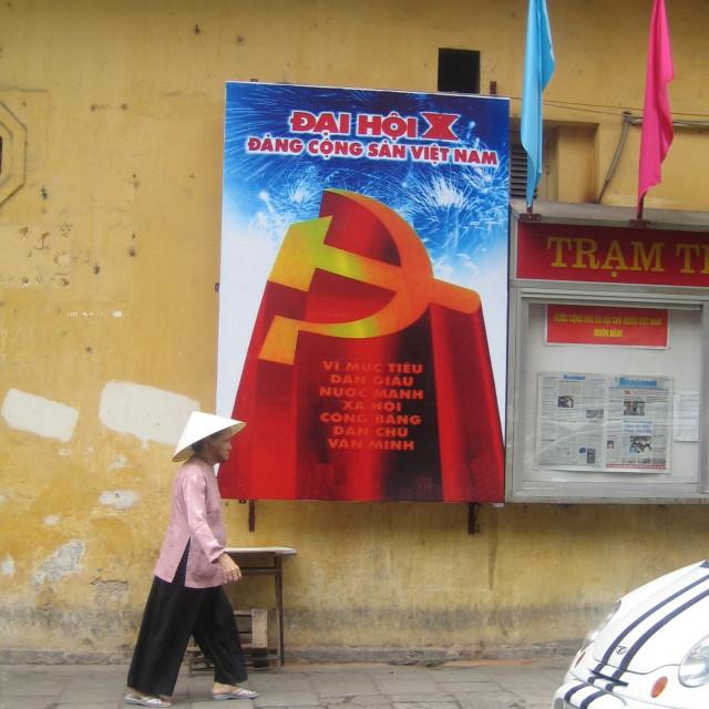 """Hanoi stroll"" stock image"