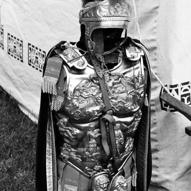 """""""Roman Armour"""" stock image"""