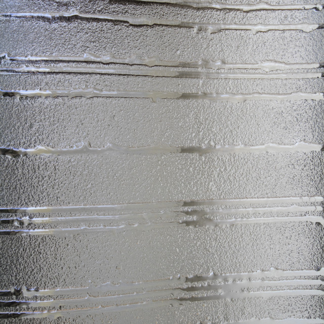 """""""Frosty decorated pattern on window"""" stock image"""