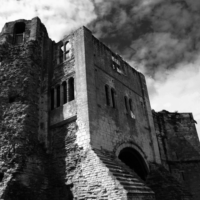 """Newark Castle"" stock image"