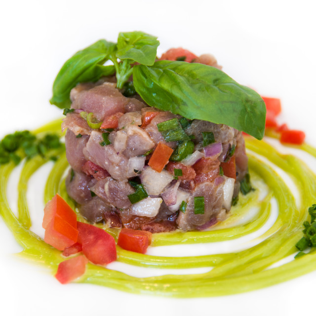 """Tuna Tartar"" stock image"