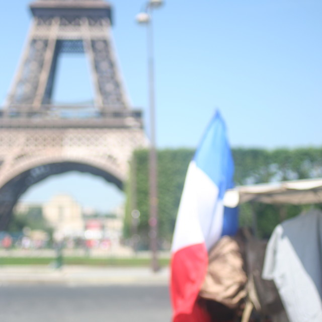 """French pride"" stock image"