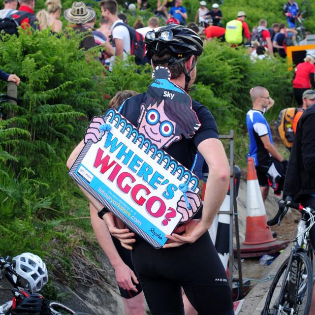 """""""Le Tour De France Stage 2 : Holme Moss ."""" stock image"""
