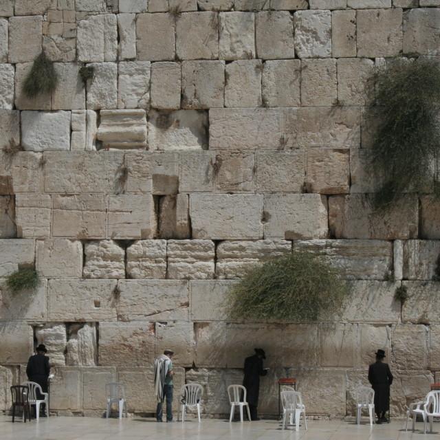 """""""Wailing wall"""" stock image"""