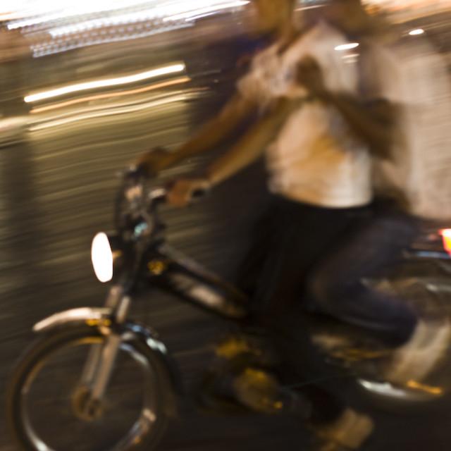 """Moroccan Commute"" stock image"