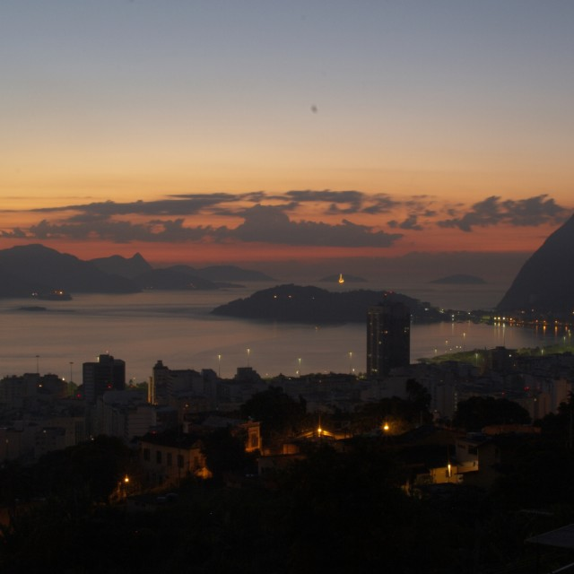 """Rio night"" stock image"
