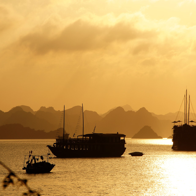 """Halong Bay"" stock image"