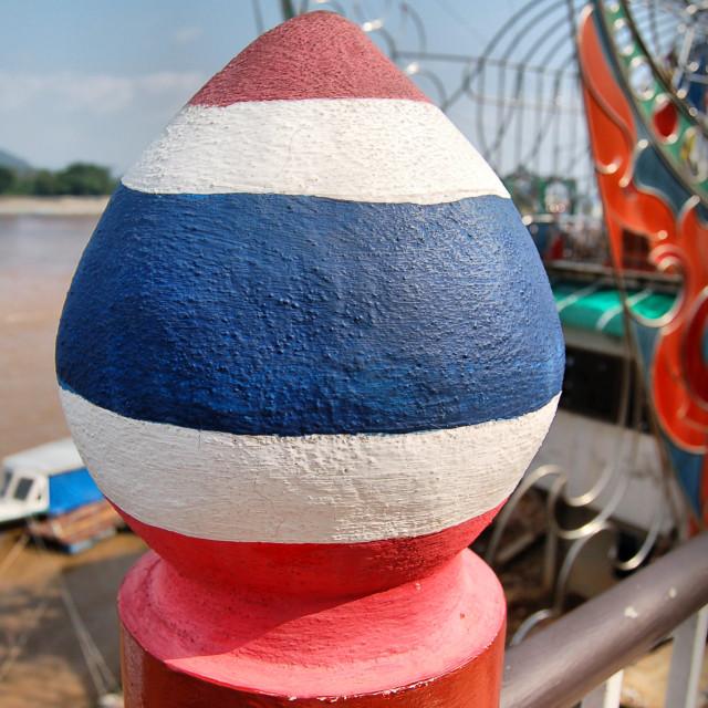 """Thailand flag"" stock image"