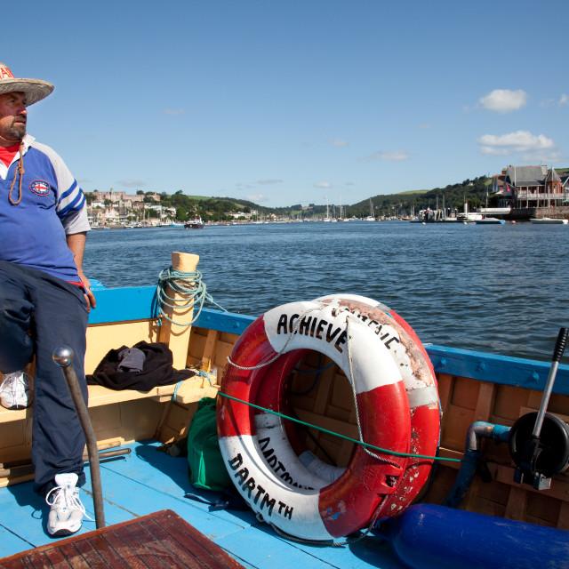 """Boatman"" stock image"