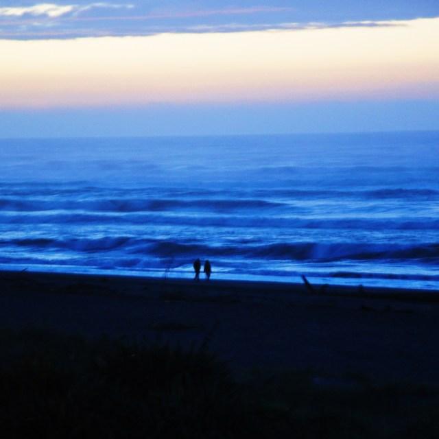 """Hokitika Beach"" stock image"
