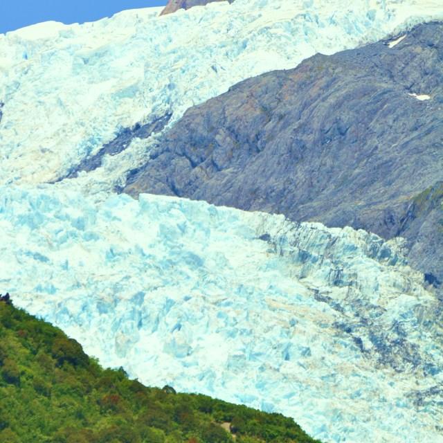 """Fox Glacier"" stock image"