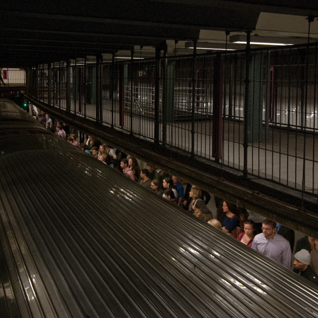 """Union Square Subway"" stock image"