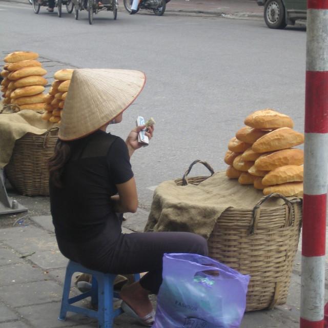 """""""Breakfast in Vietnam"""" stock image"""