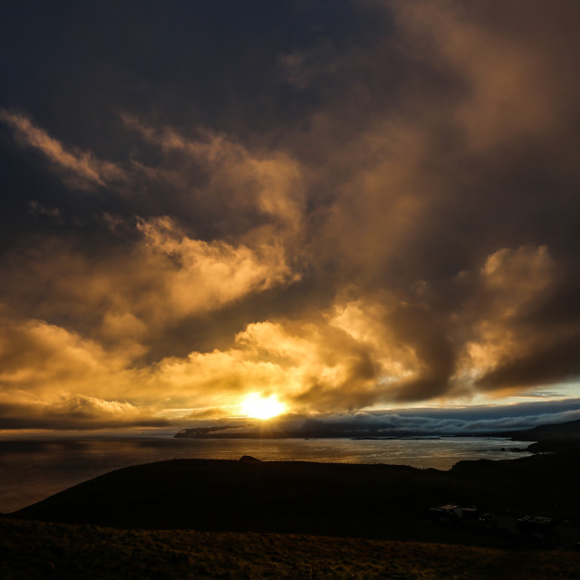 """Loch Eriboll Sunrise"" stock image"