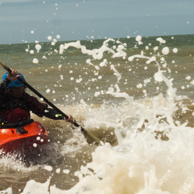 """Sea Kayak1"" stock image"