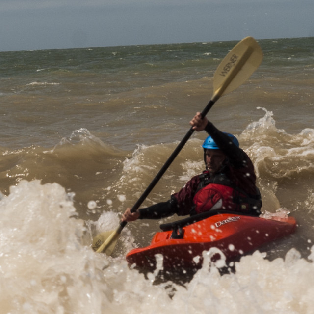 """Sea Kayak 2"" stock image"