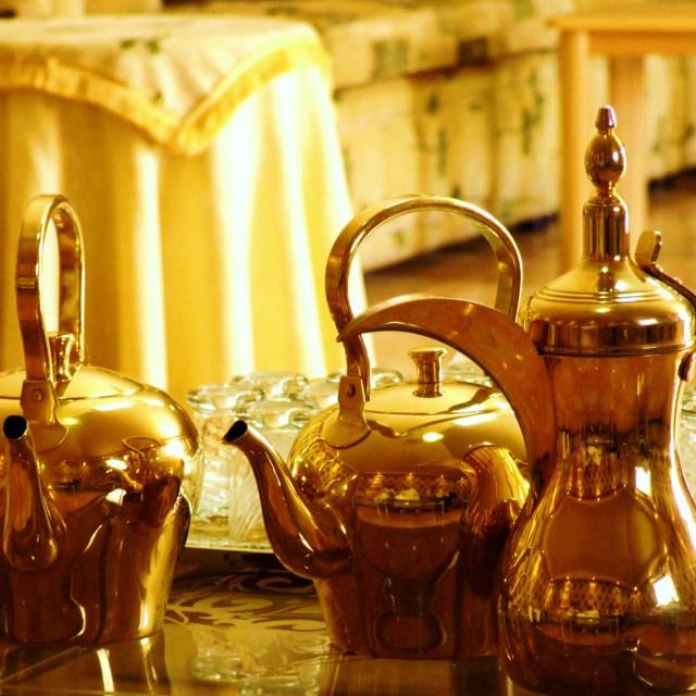 """Coffee Pots"" stock image"