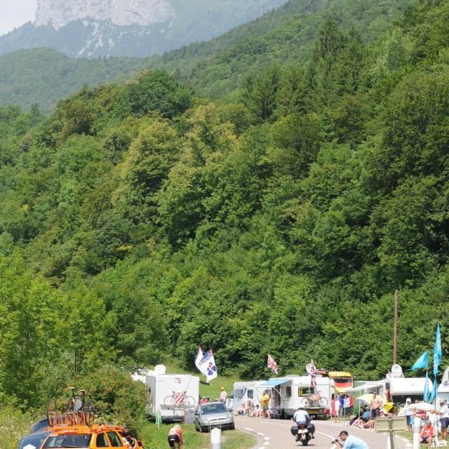"""""""Annecy TT, Tour de France"""" stock image"""