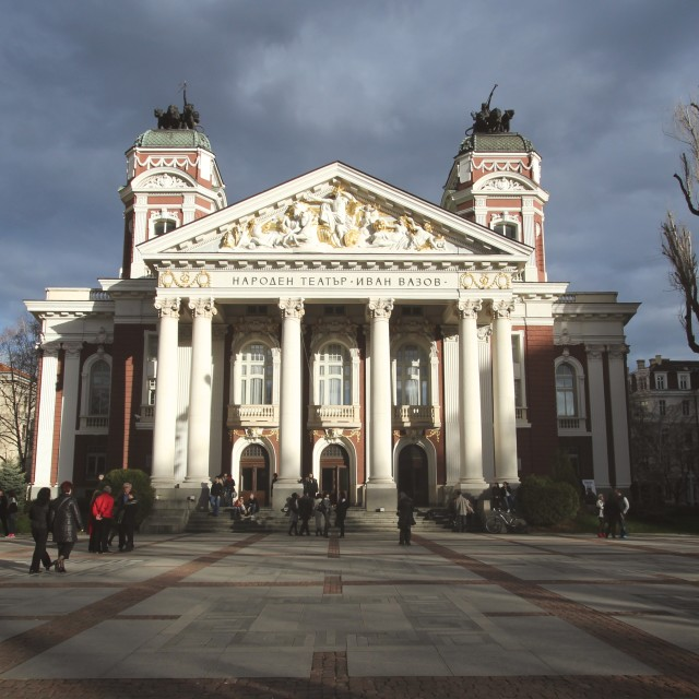 """Ivan Vasov National Theatre"" stock image"