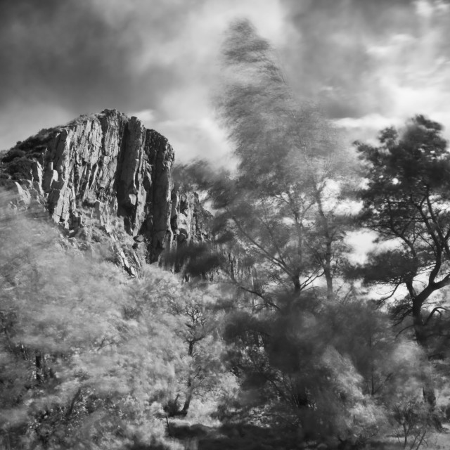 """""""Cawfields Crag"""" stock image"""