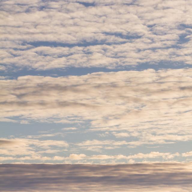 """Layered Cloud"" stock image"