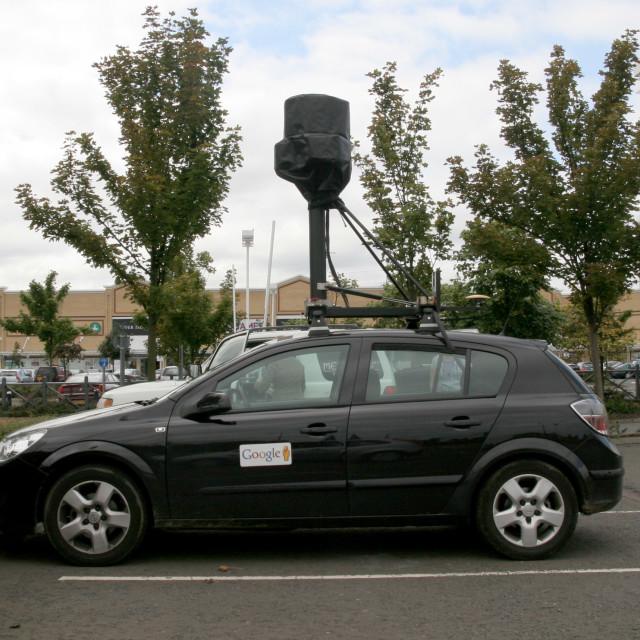 """Google car"" stock image"