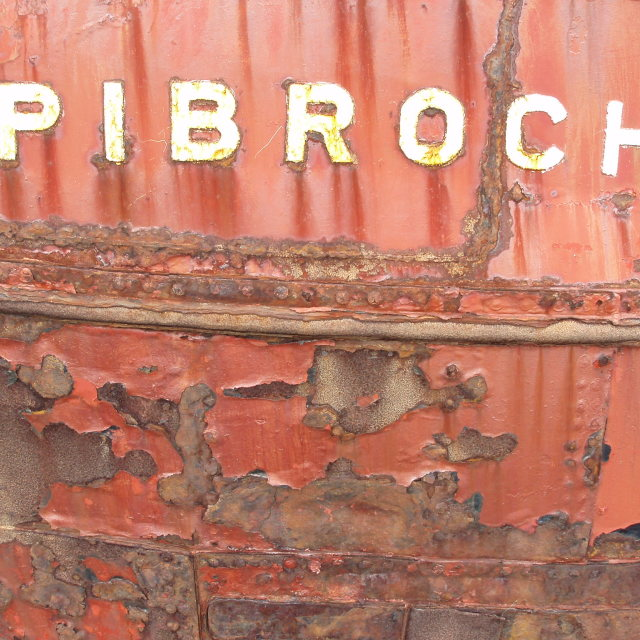 """Boat rust"" stock image"