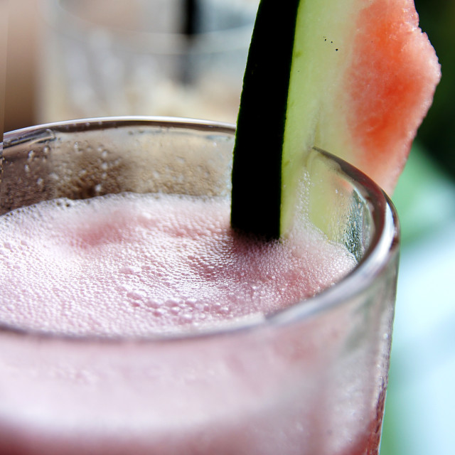 """Watermelon juice"" stock image"