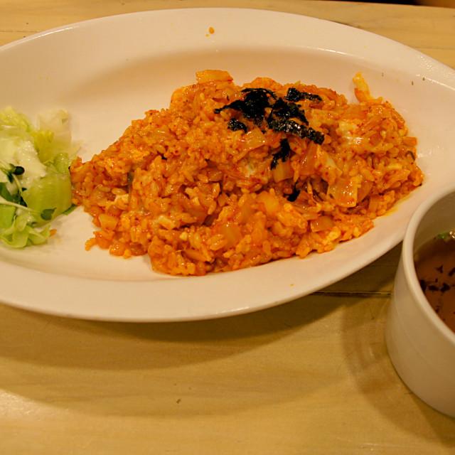 """""""Kimchi fried rice"""" stock image"""