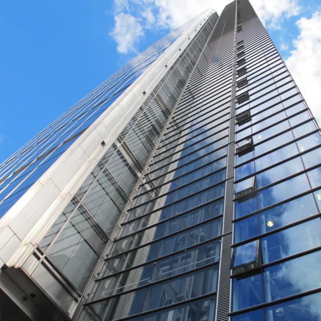 """Heron Tower 2"" stock image"