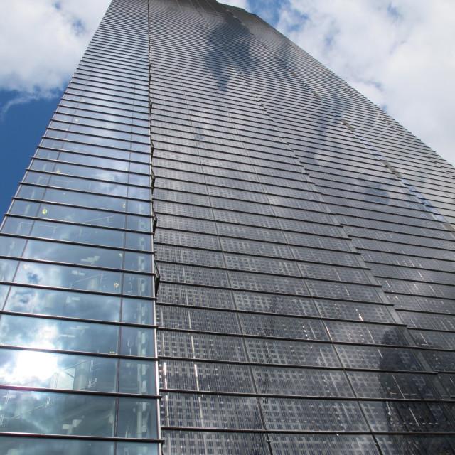 """Heron Tower"" stock image"