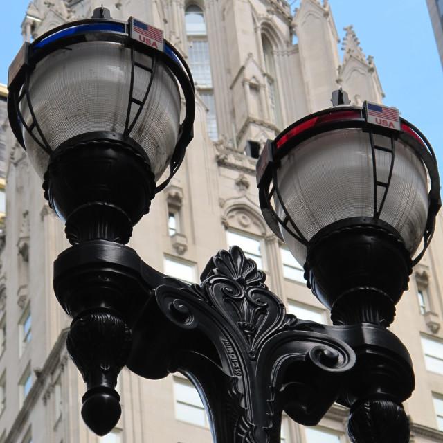 """""""USA Lights"""" stock image"""