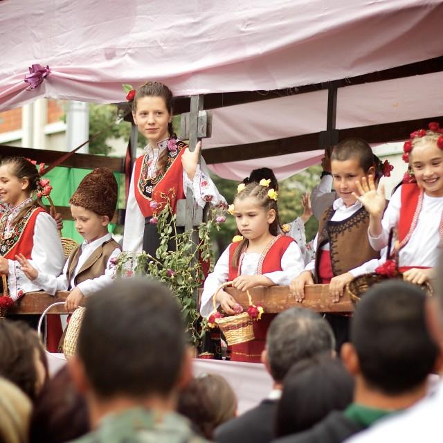 """Rose Festival at Kazanlak"" stock image"