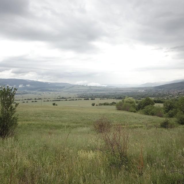 """Bulgarian countryside"" stock image"