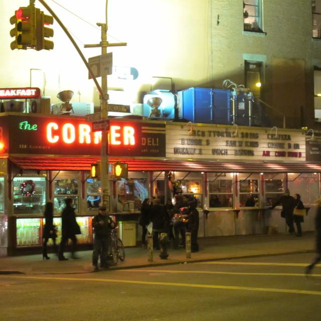"""The Corner"" stock image"