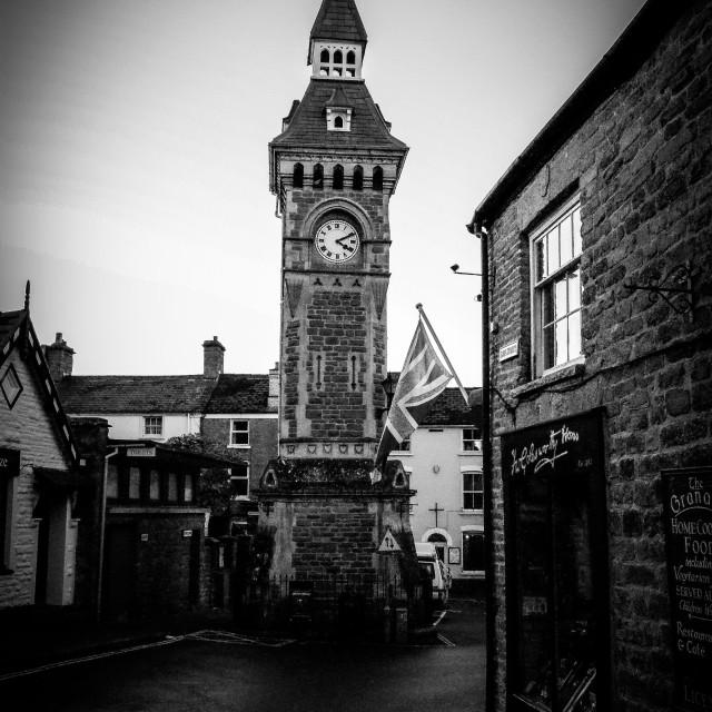 """Town Clock"" stock image"