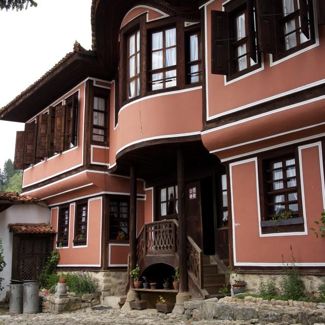 """Traditional House in Koprivshtitsa"" stock image"