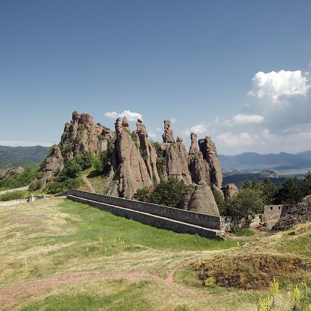 """Belogradchik Fortress"" stock image"