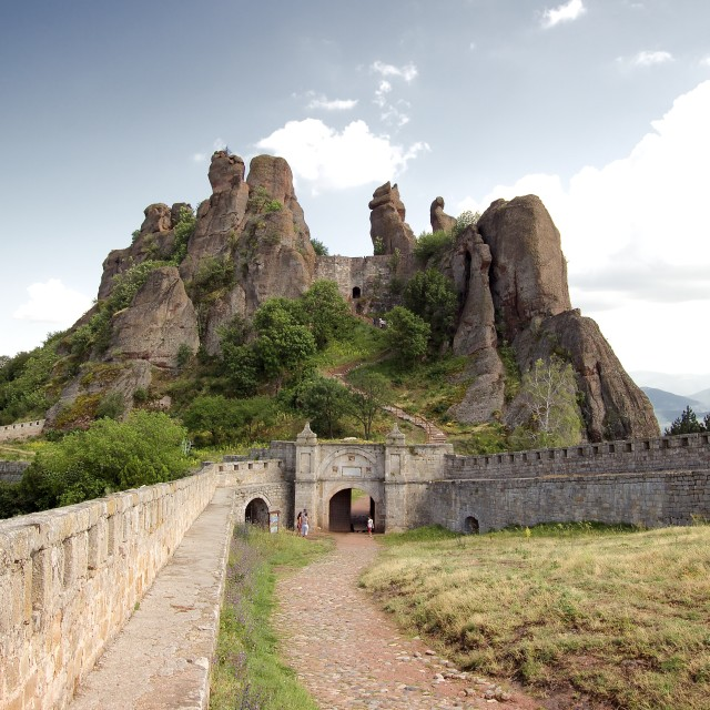 """Belogradchik Fortress"" stock image"