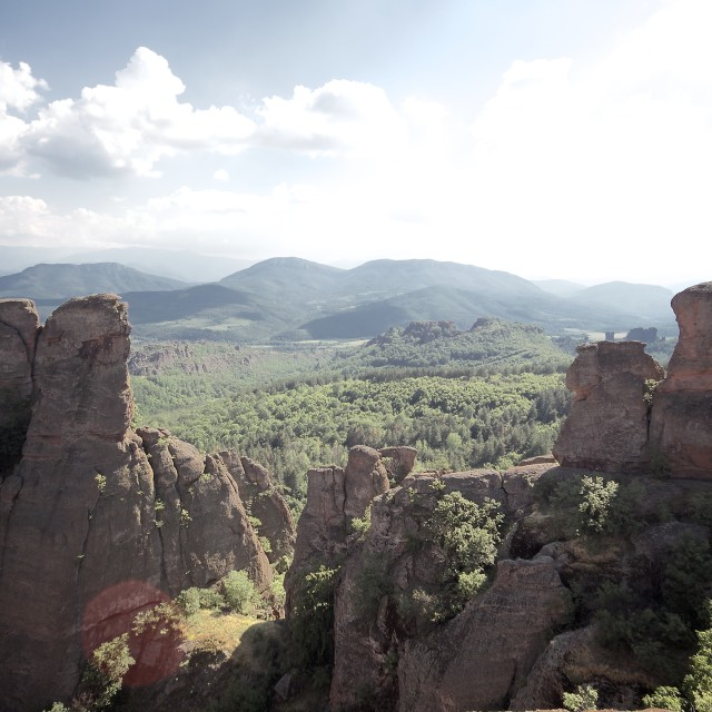 """Belogradchik rocks"" stock image"