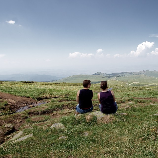 """View from Vitosha"" stock image"