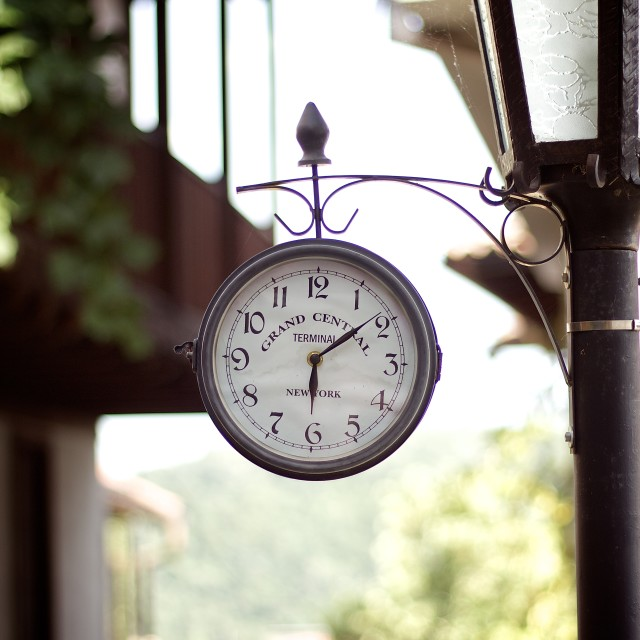 """Clock in Veliko Tarnovo"" stock image"