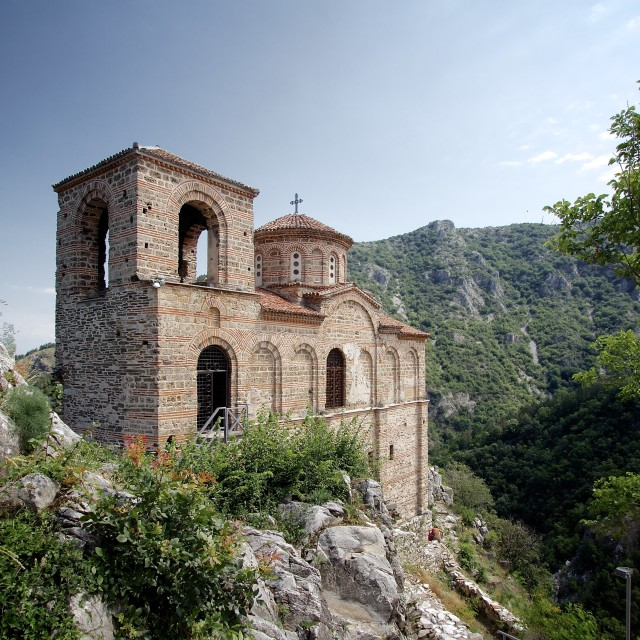 """Asen's Fortress Chapel"" stock image"
