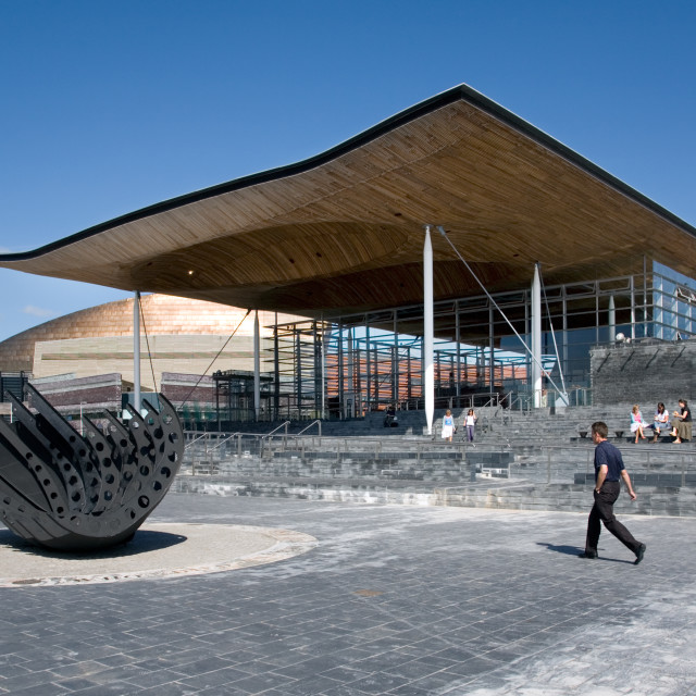 """The Senedd"" stock image"