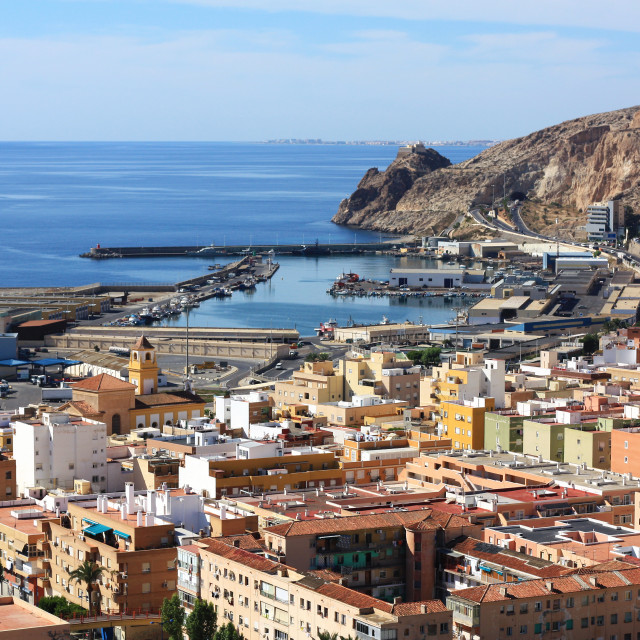 """Almeria, Spain"" stock image"