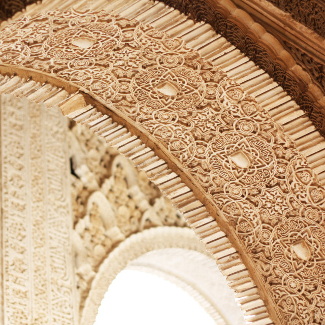 """Arabic Style Arch"" stock image"
