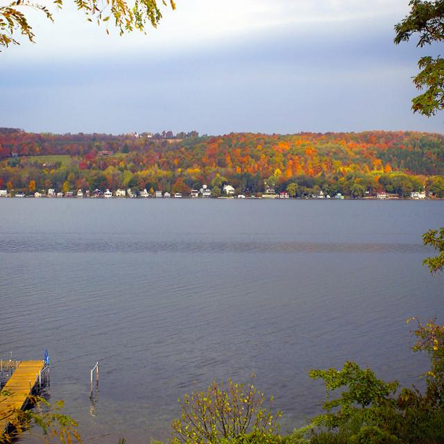 """""""Keuka Lake"""" stock image"""