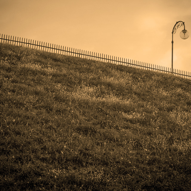"""""""The slope"""" stock image"""